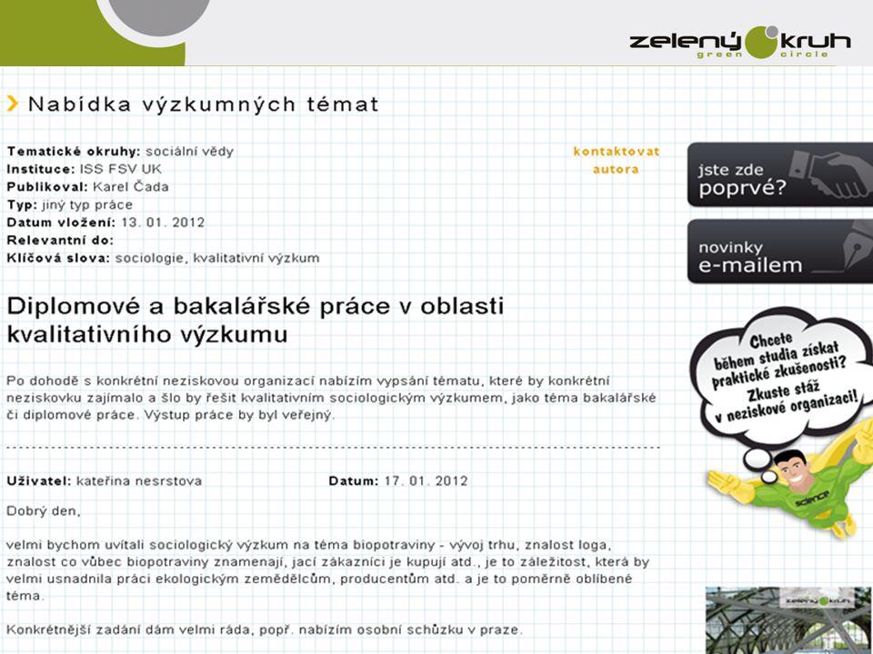 •18.11.2013 – Zelené střechy ve městech – povídání s Josefem Vokálem •27.