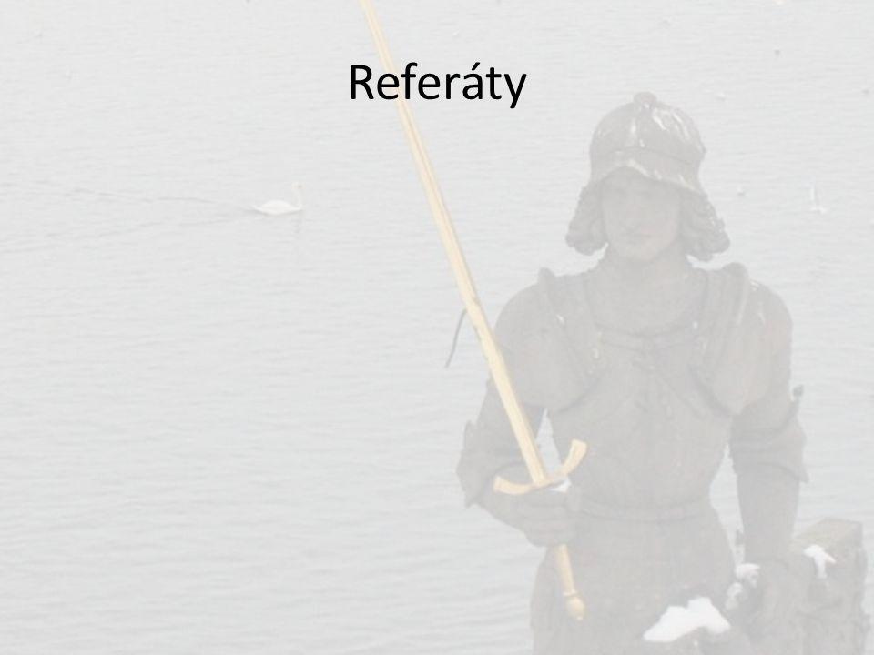 Referáty