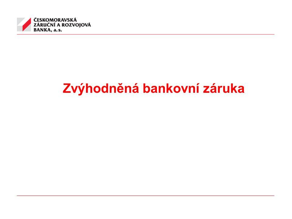 Zvýhodněná bankovní záruka