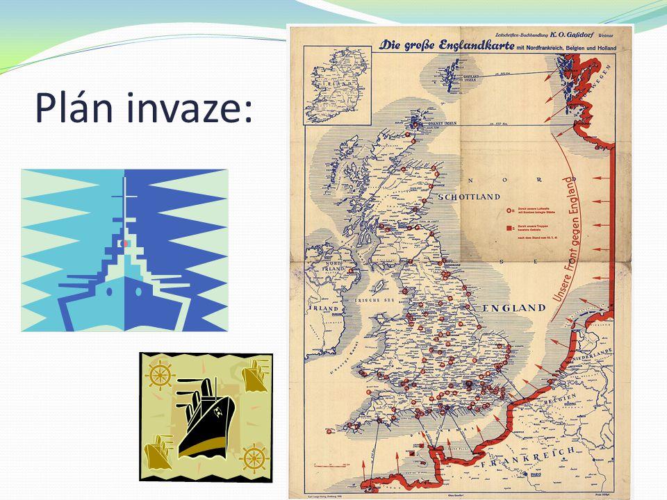 Plán invaze: