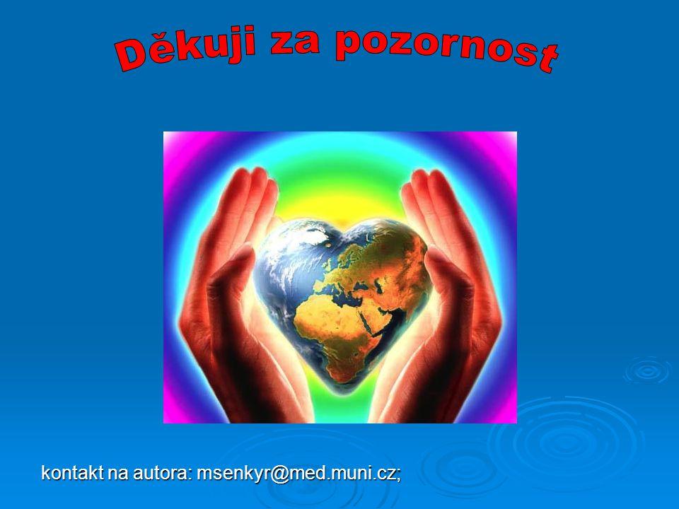 kontakt na autora: msenkyr@med.muni.cz;