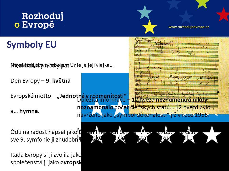 Tváře Evropské unie Herman van Rompuy Předseda Evropské rady José Manuel Barroso Předseda Komise Jerzy Buzek Předseda Evropského parlamentu Catherine Ashton Vysoký představitel Unie pro SZBP