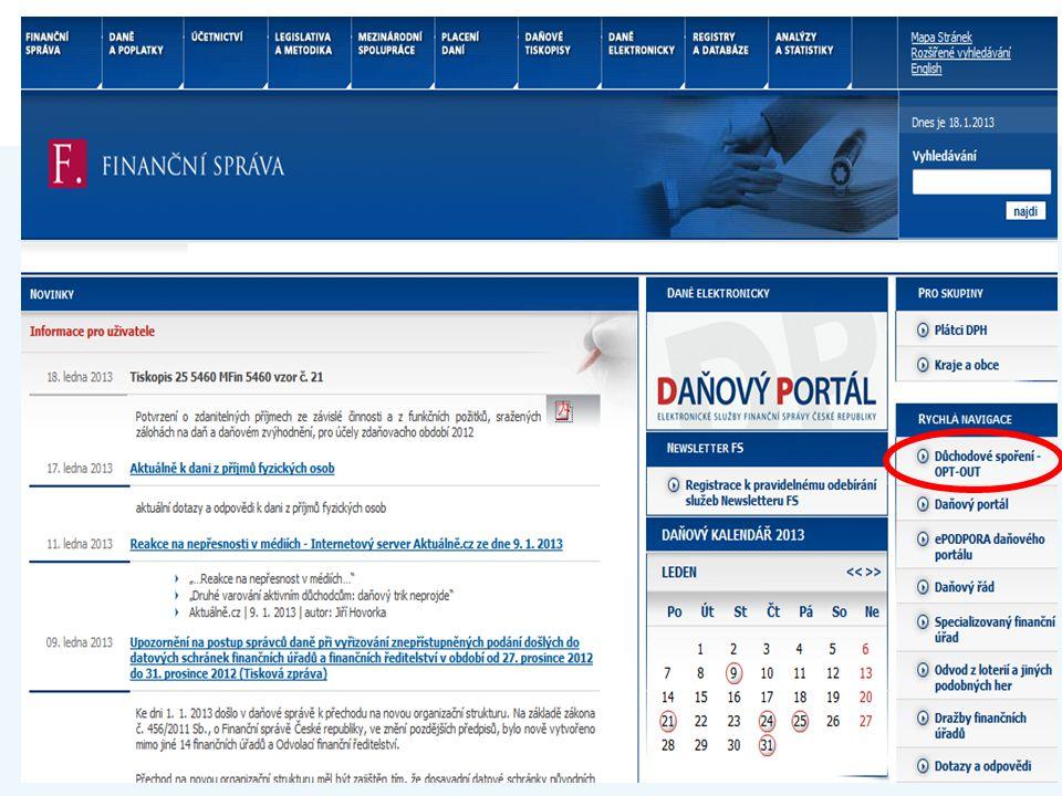 www.financnisprava.cz