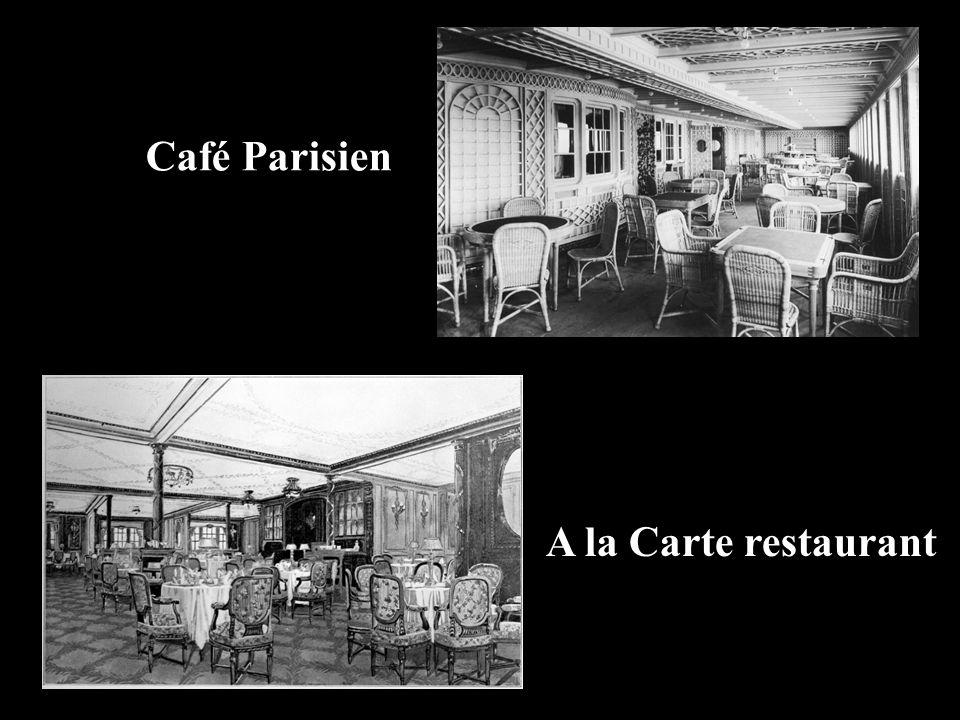 A la Carte restaurant Café Parisien