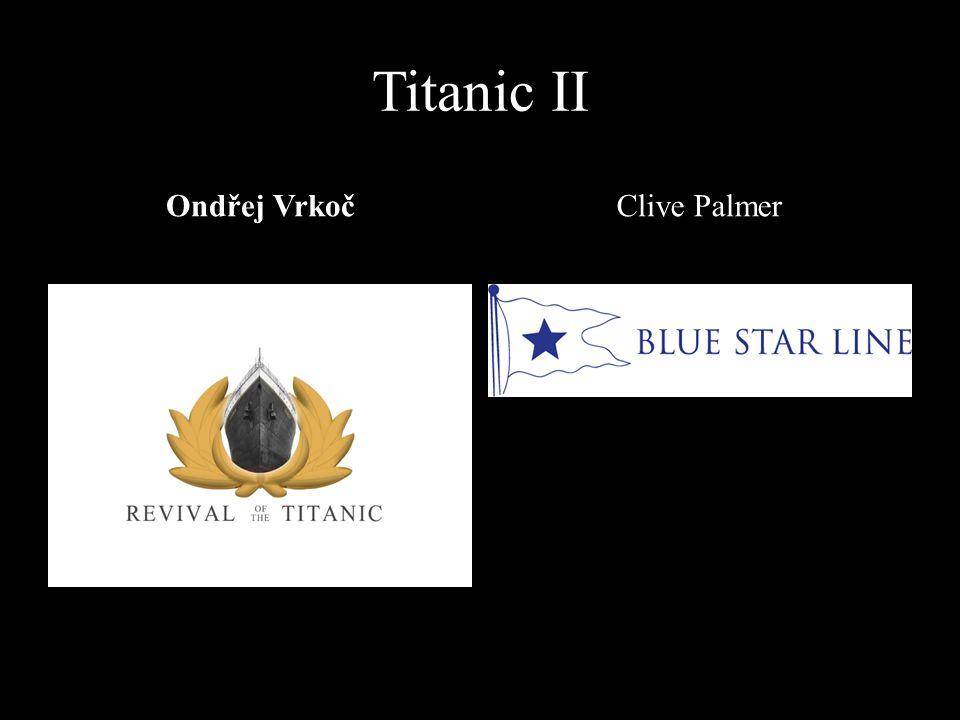 Titanic II Ondřej VrkočClive Palmer