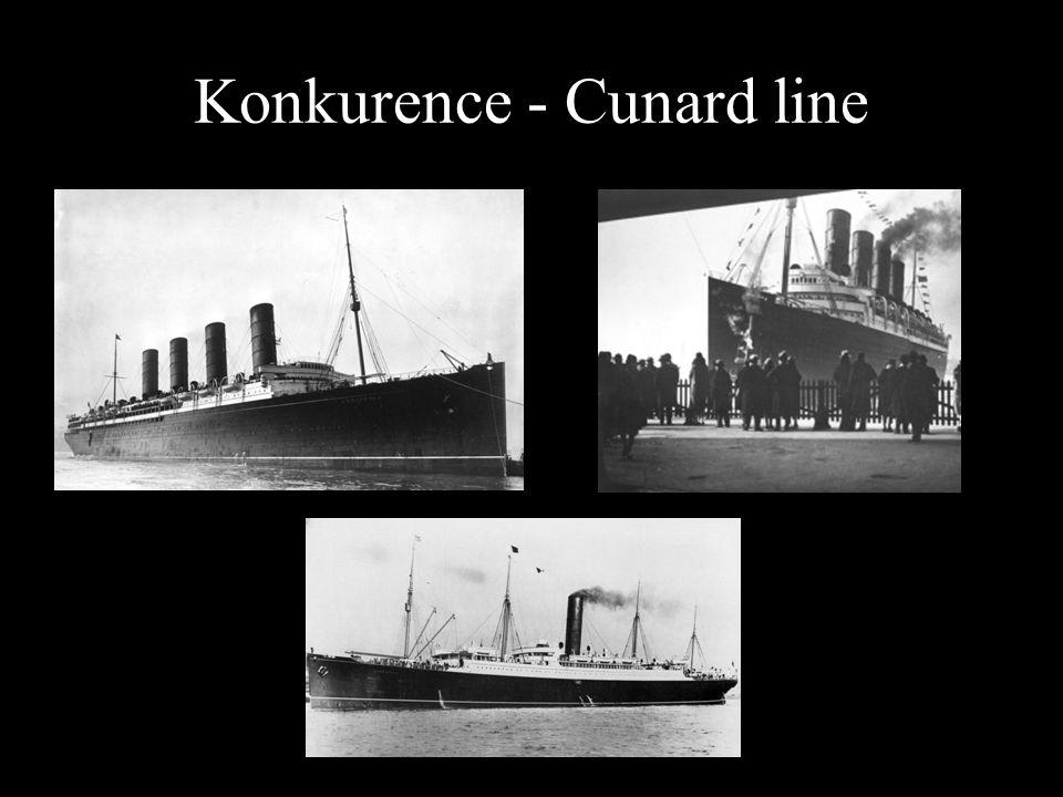 Konkurence - Cunard line