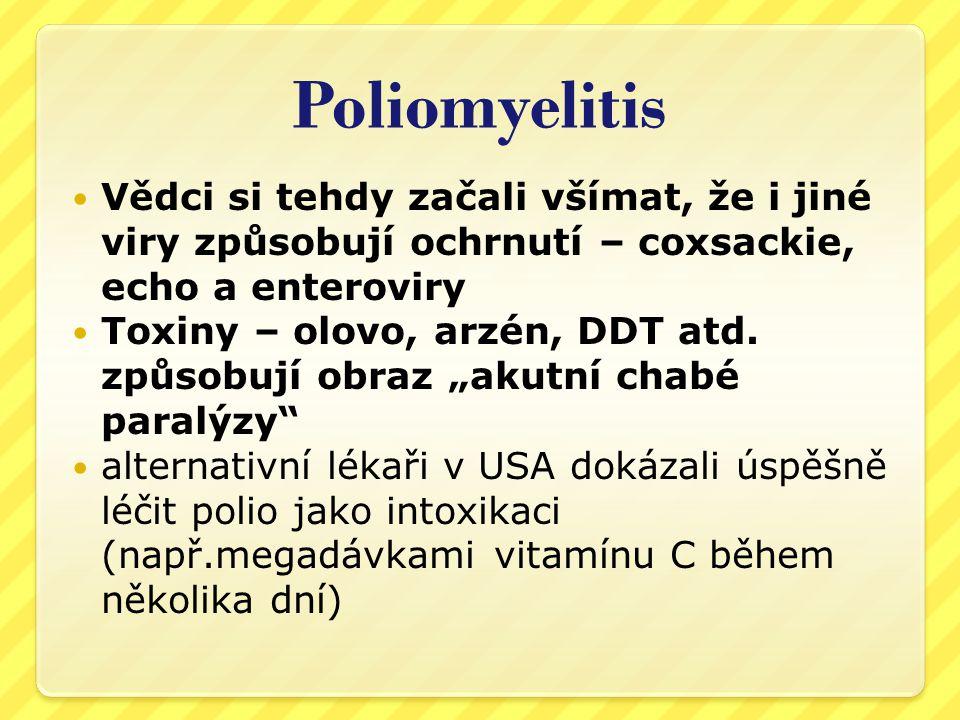 Poliomyelitis  Před r.