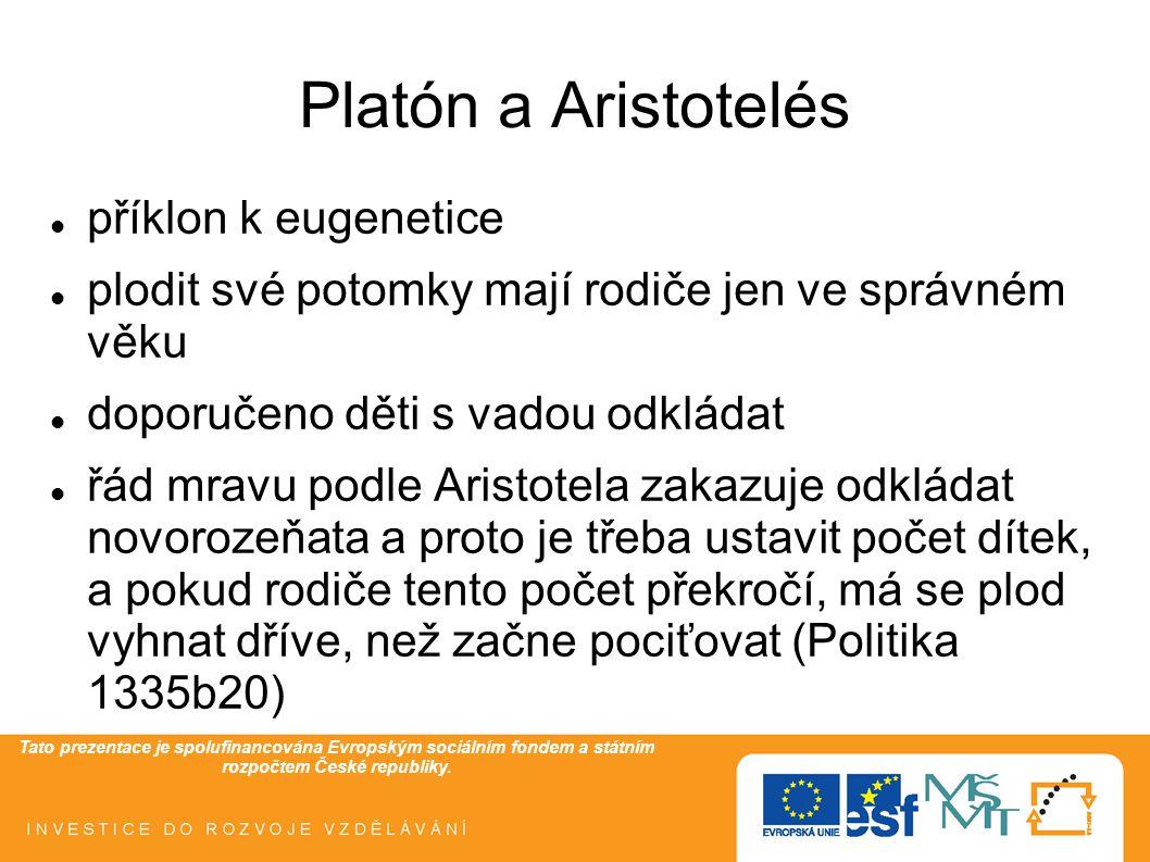 Tato prezentace je spolufinancována Evropským sociálním fondem a státním rozpočtem České republiky.
