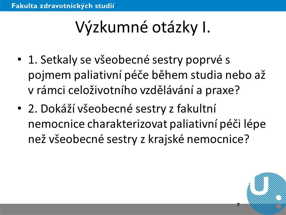 Výzkumné otázky II.• 3.