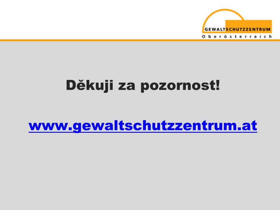 Děkuji za pozornost! www.gewaltschutzzentrum.at