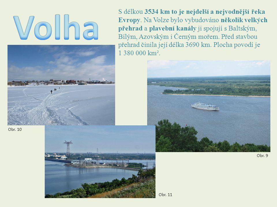 S délkou 3534 km to je nejdelší a nejvodnější řeka Evropy. Na Volze bylo vybudováno několik velkých přehrad a plavební kanály ji spojují s Baltským, B