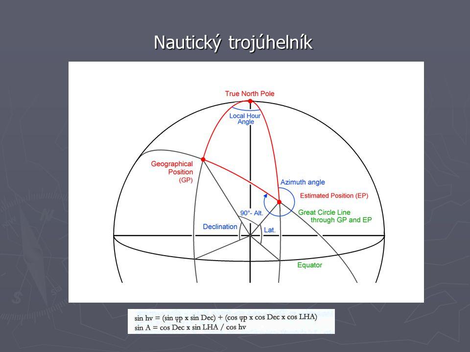 Nautický trojúhelník