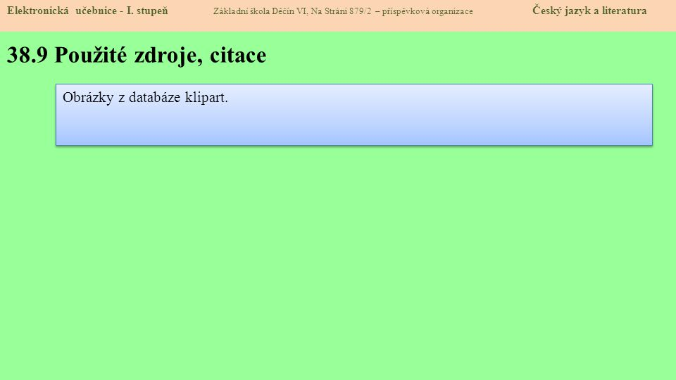 38.10 Anotace Elektronická učebnice - I.