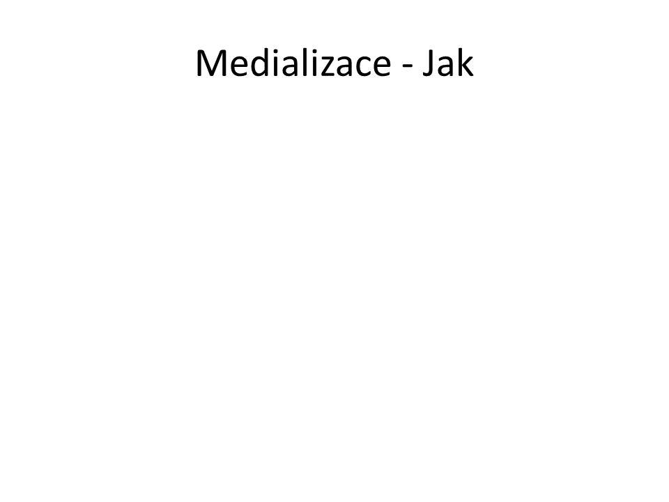 Medializace - Jak