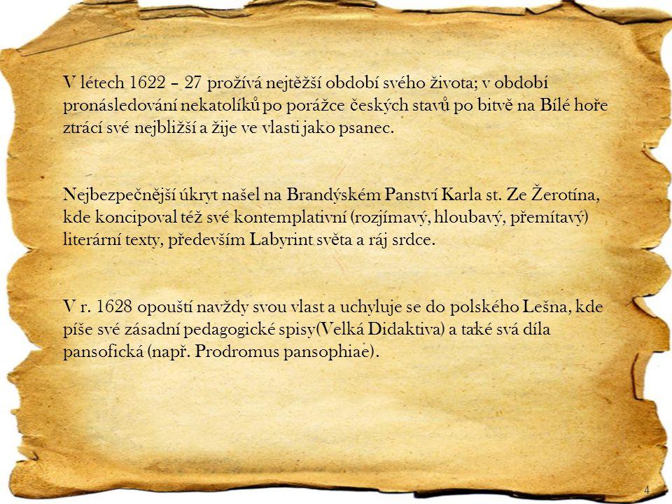 V létech 1644 – 45 se ú č astnil mírových rozhovor ů mezi zástupci katolík ů, luterán ů a kalvinist ů v Toruni.