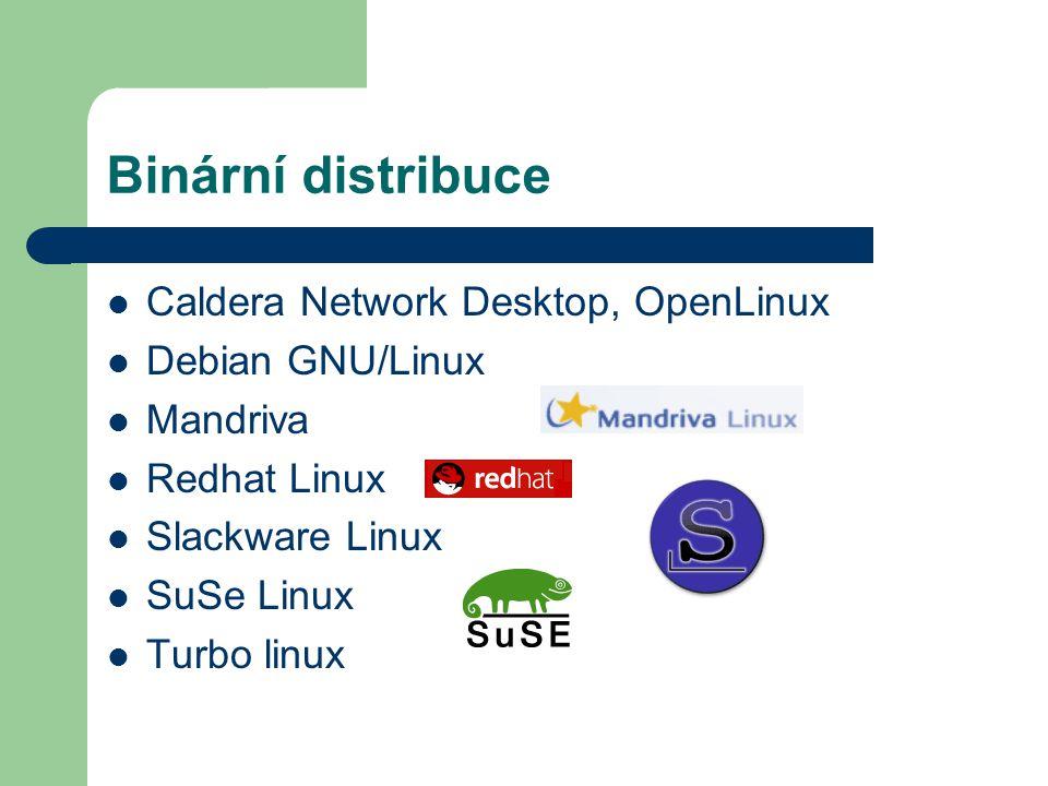 Zdrojové distribuce Gentoo GNU/Linux Source Mage GNU/Linux