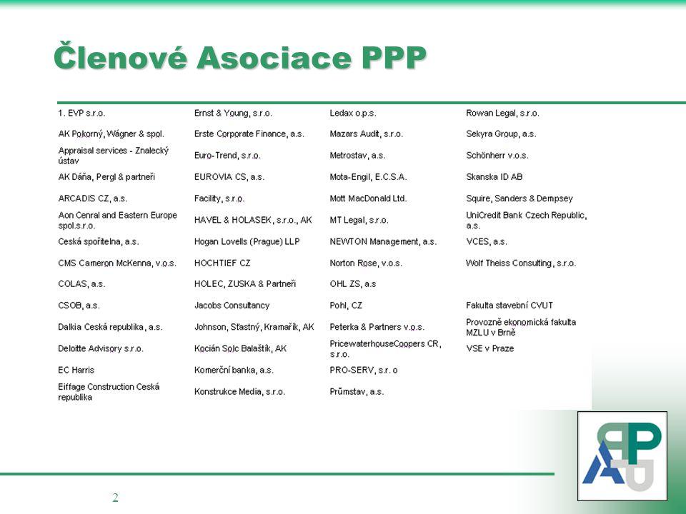 2 Členové Asociace PPP