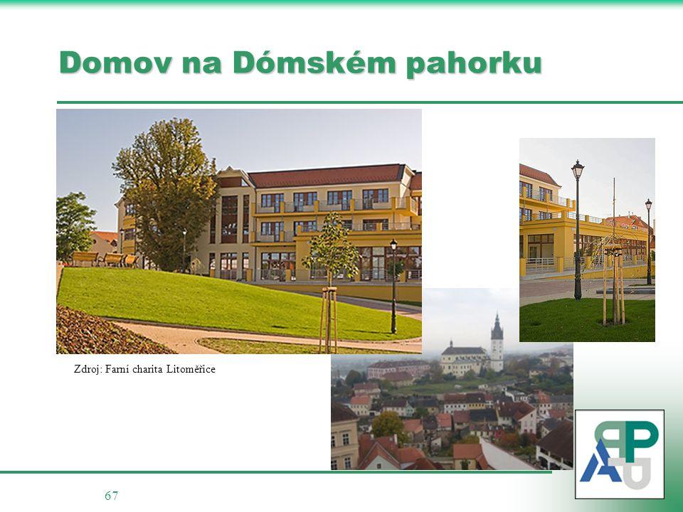 67 Domov na Dómském pahorku Zdroj: Farní charita Litoměřice