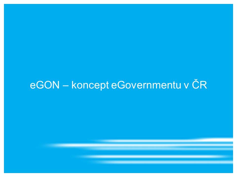 eGON – koncept eGovernmentu v ČR