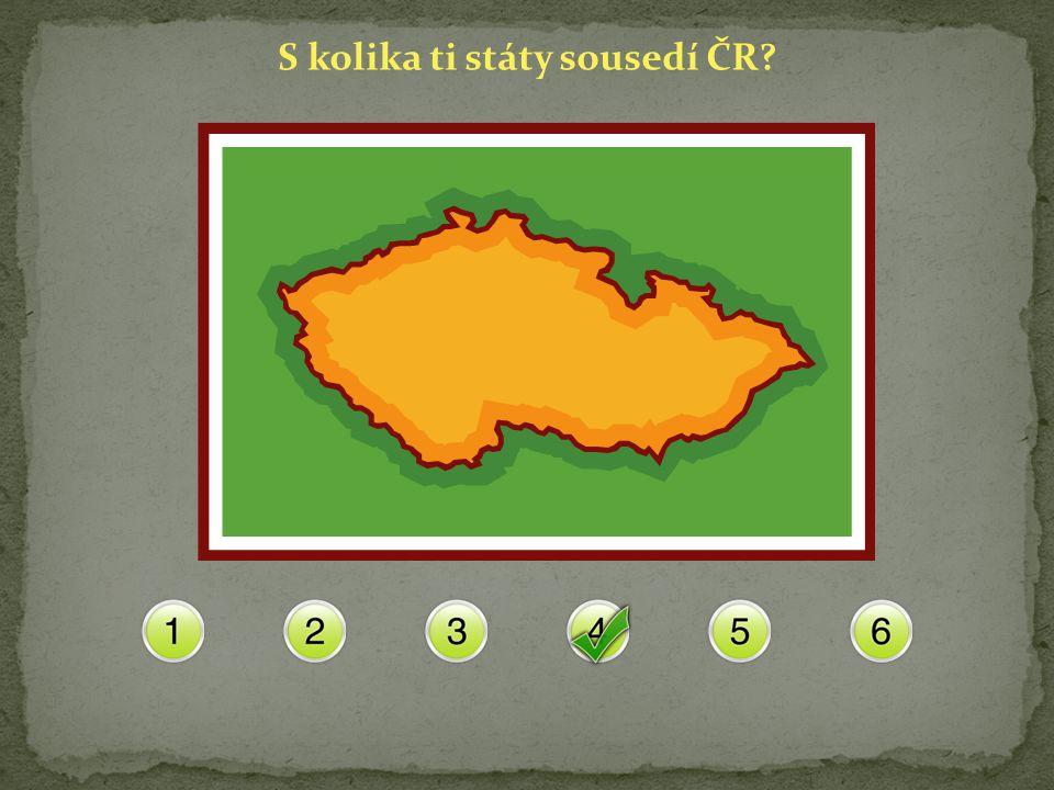 S kolika ti státy sousedí ČR?