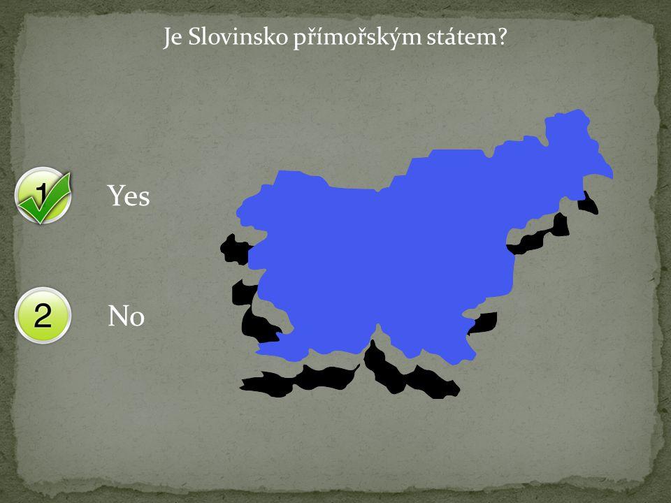 Yes No Je Slovinsko přímořským státem?