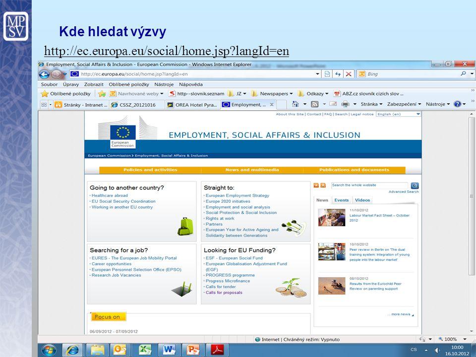 6 Celková koordinace v ČR – odbor EU a mezinárodní spolupráce MPSV Metodické řízení Tvorba internetových stránek Propagace KP PROGRESS Vyhlašování veř