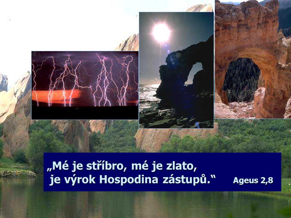 """""""Hospodinova je země se vším, co je na ní, svět i ti, kdo na něm sídlí."""" Žalm 24,1"""