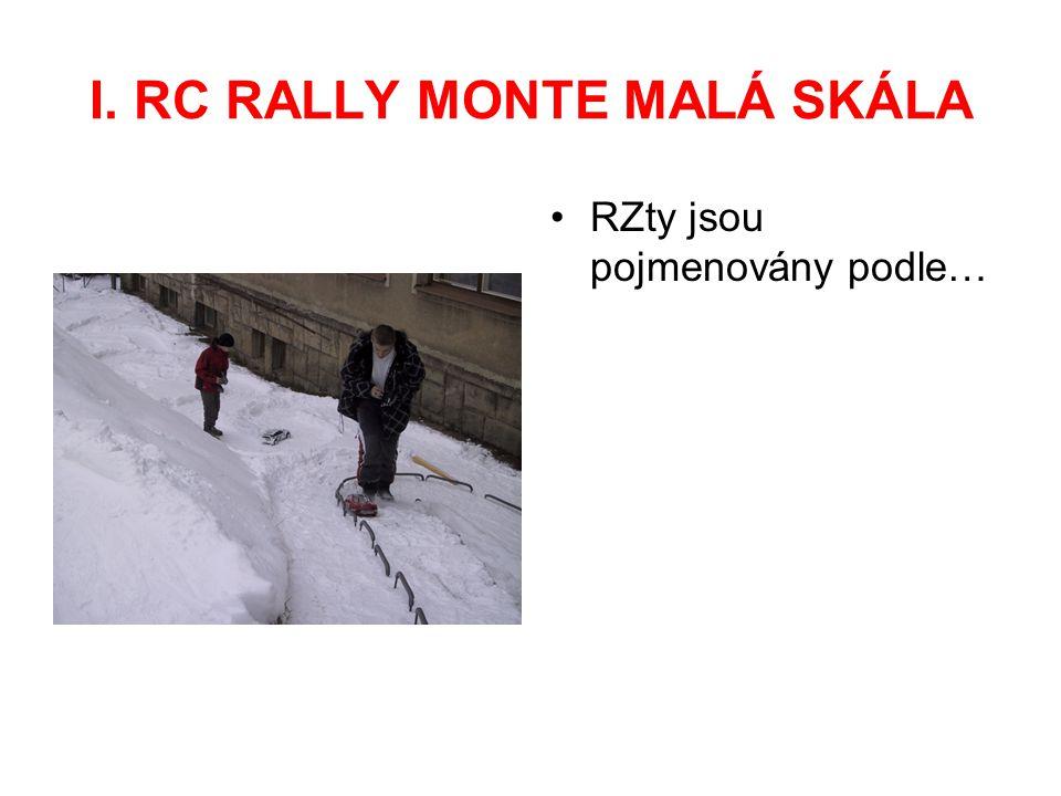 I. RC RALLY MONTE MALÁ SKÁLA … školníkova věšáku na prádlo