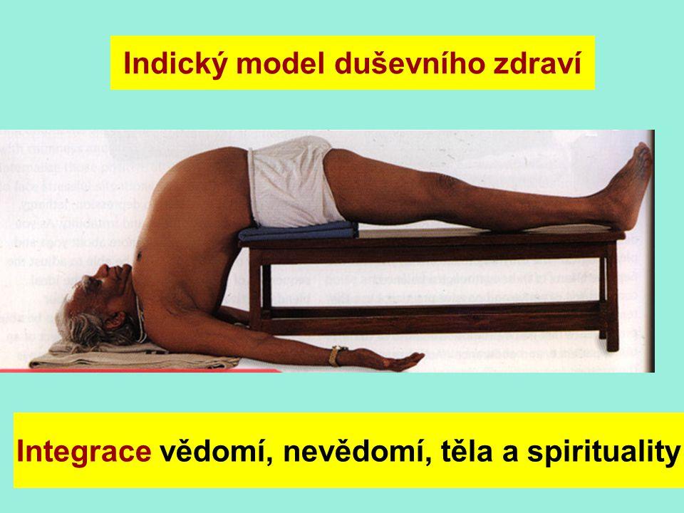 Integrace vědomí, nevědomí, těla a spirituality Indický model duševního zdraví