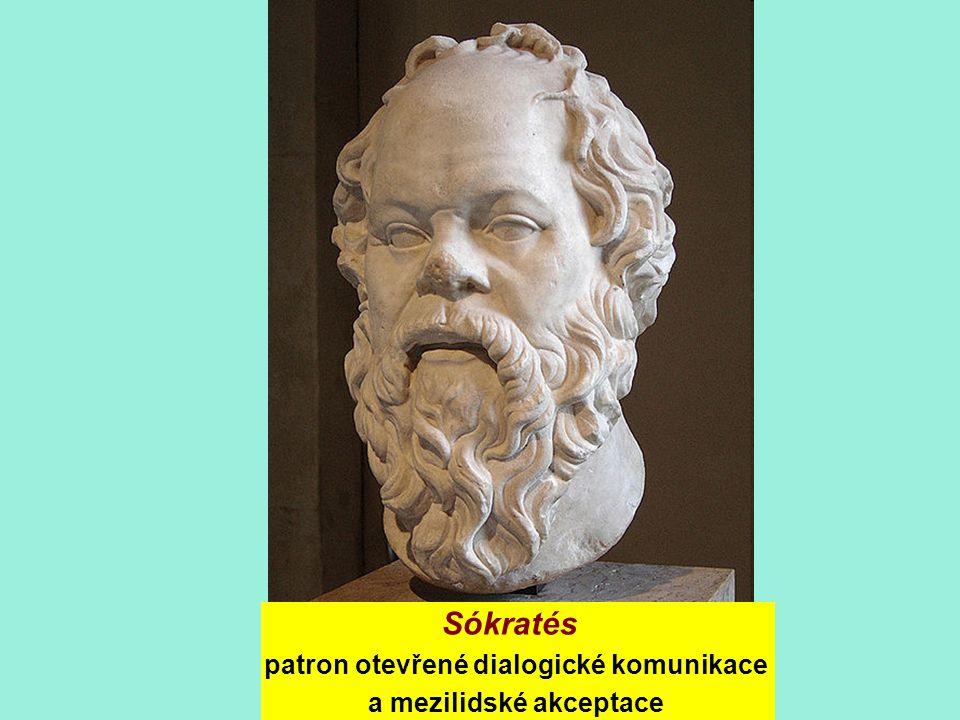 Sókratés patron otevřené dialogické komunikace a mezilidské akceptace