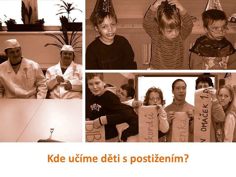 Kde učíme děti s postižením?