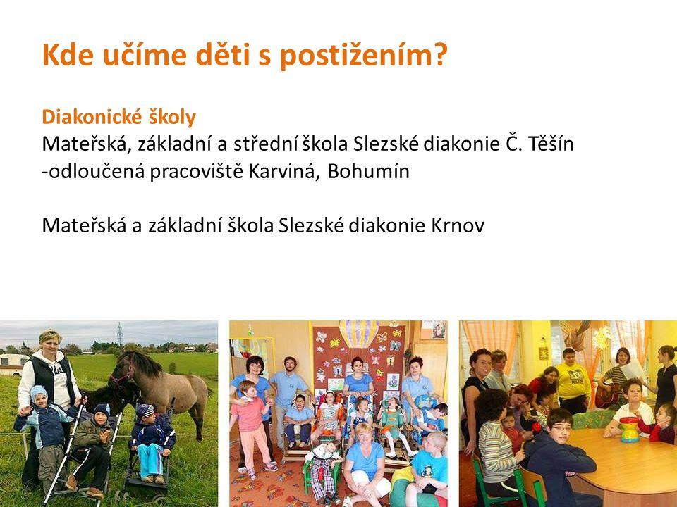Diakonické školy Mateřská, základní a střední škola Slezské diakonie Č.