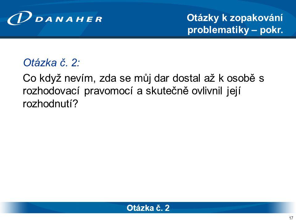 17 Otázka č.