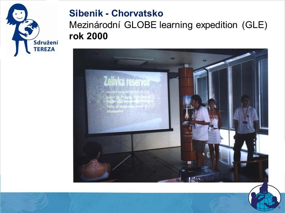 Sibenik - Chorvatsko Mezinárodní GLOBE learning expedition (GLE) rok 2000