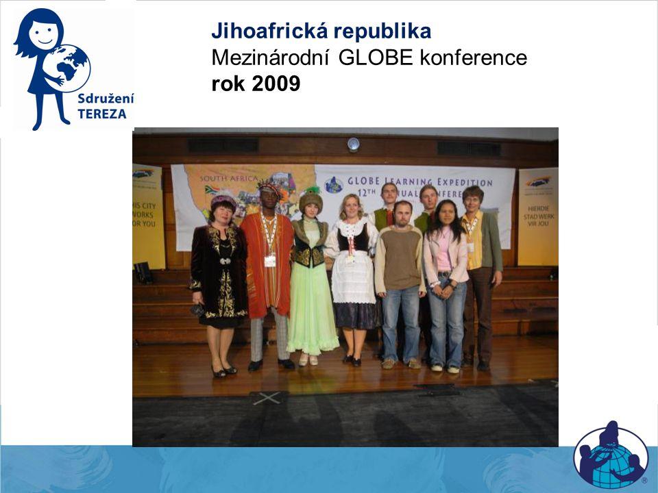 Jihoafrická republika Mezinárodní GLOBE konference rok 2009
