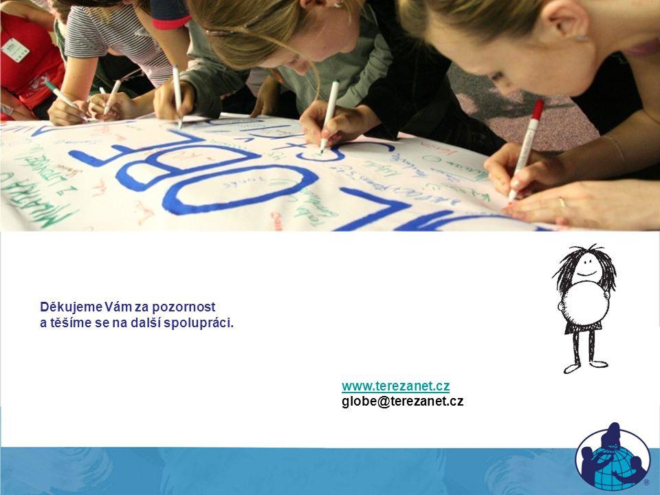 Děkujeme Vám za pozornost a těšíme se na další spolupráci. www.terezanet.cz globe@terezanet.cz