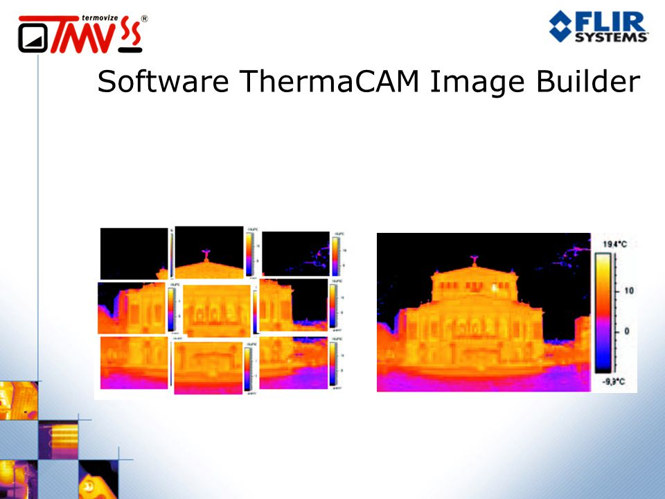 Software ThermaCAM Image Builder