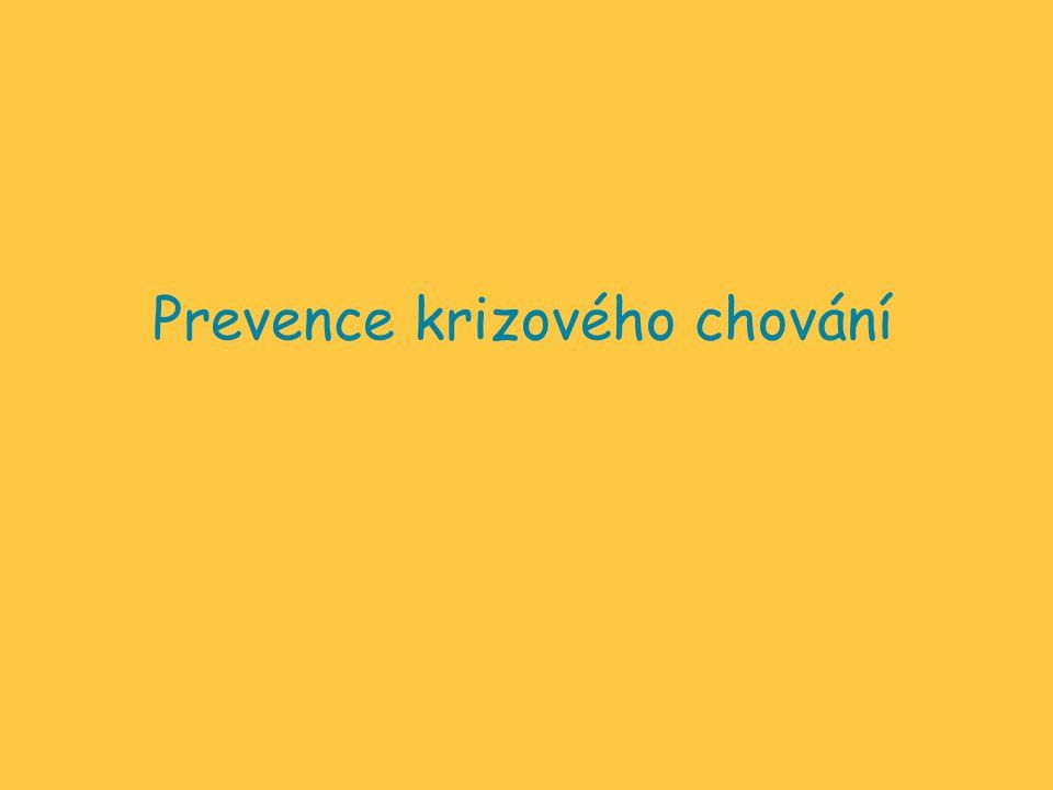 Prevence krizového chování
