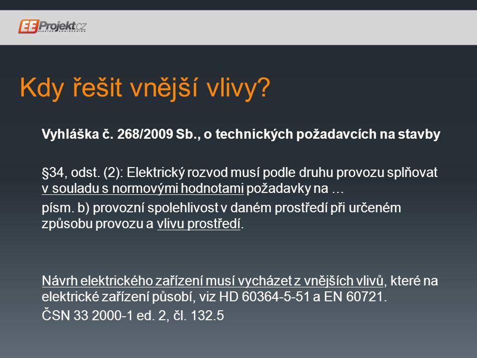 Administrativní budova / kanceláře Novelizovaná Vyhláška č.