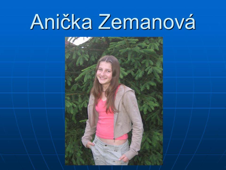 Anička Zemanová
