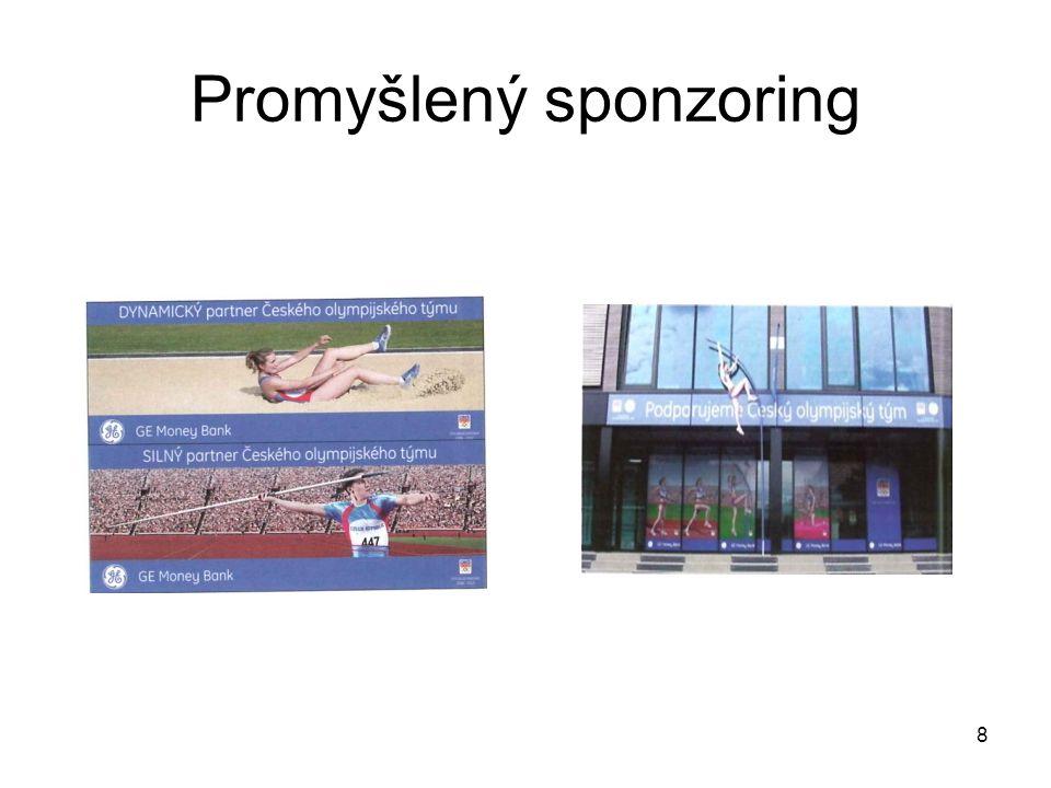 Promyšlený sponzoring 8