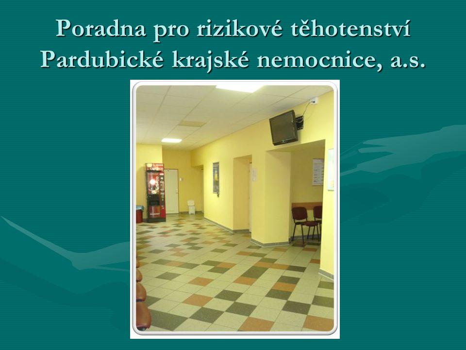 Poradna pro rizikové těhotenství Pardubické krajské nemocnice, a.s.