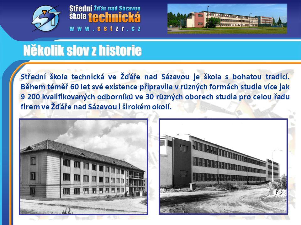 Střední škola technická ve Žďáře nad Sázavou je škola s bohatou tradicí. Během téměř 60 let své existence připravila v různých formách studia více jak