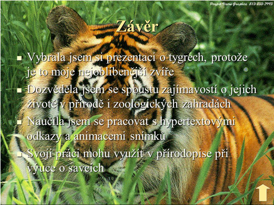 Použité informační zdroje  www.wikipedia.cz  www.google.cz  Encyklopedie zvířat