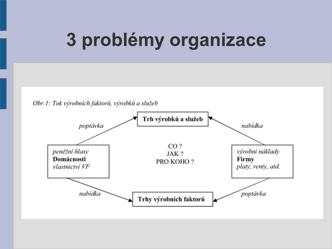 3 problémy organizace