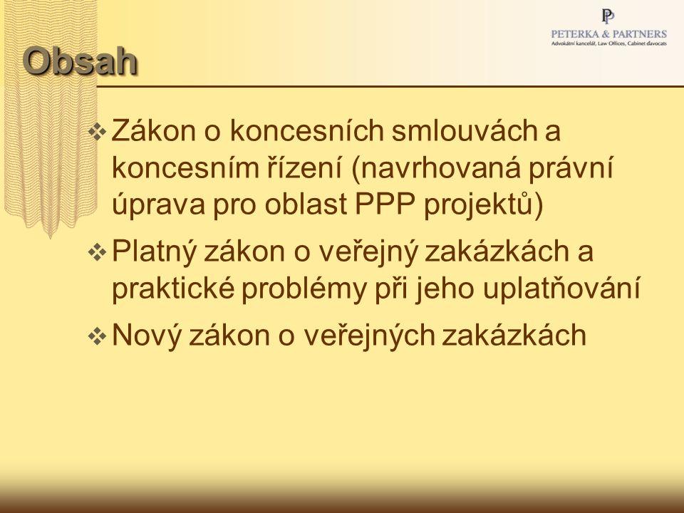 Projekty PPP v České republice  Projekty PPP  Co jsou to projekty PPP.