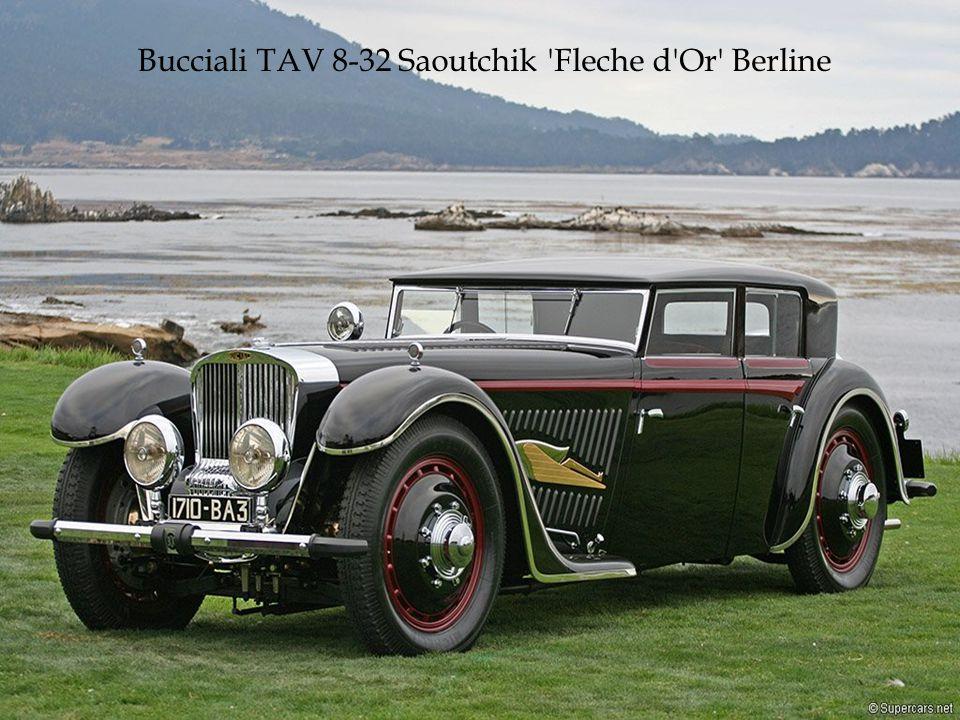 Motor V12 o obsahu 4,9 litrů.Exemplář unikátní konstrukce z roku 1931.