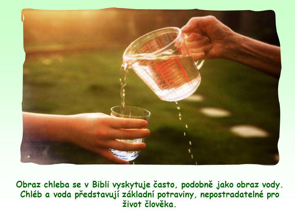 """""""Neusilujte o pokrm, který pomíjí, ale o pokrm, který zůstává k věčnému životu; ten vám dá Syn člověka."""