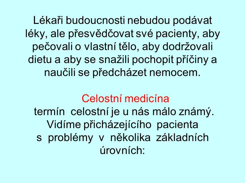 MUDr.P.Šácha - PhDr.P.Šáchová Celostní medicína - pohled na člověka jako na celek
