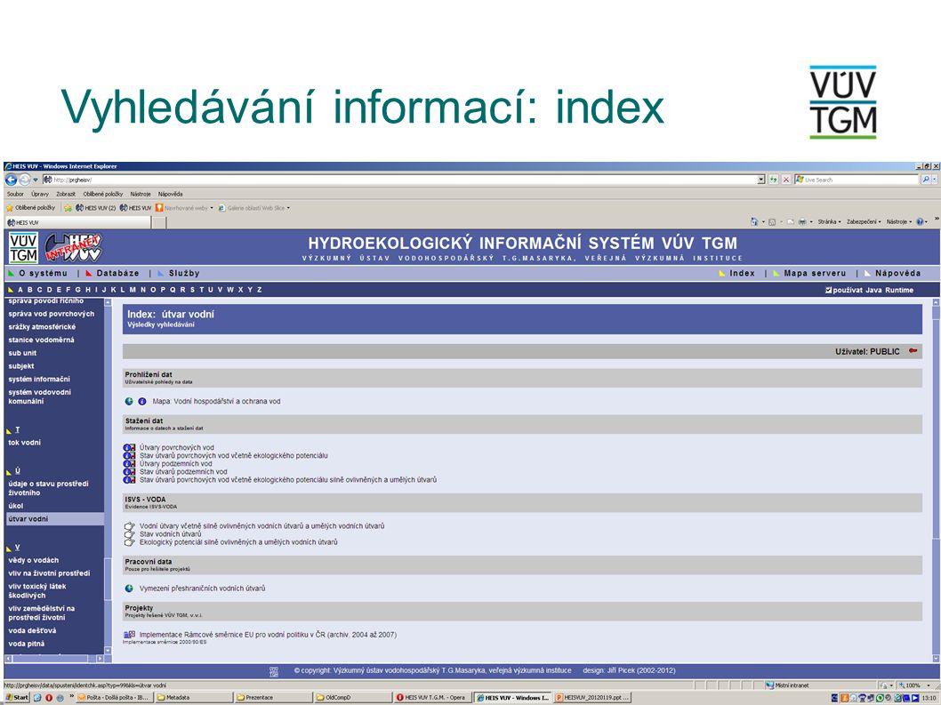 Prohlížení dat: Interaktivní mapy